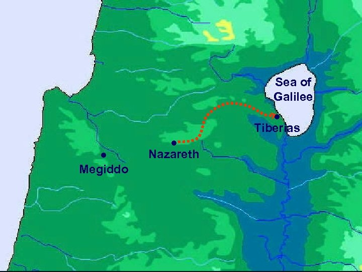 Sea of Galilee ● Tiberias ● Megiddo ● Nazareth