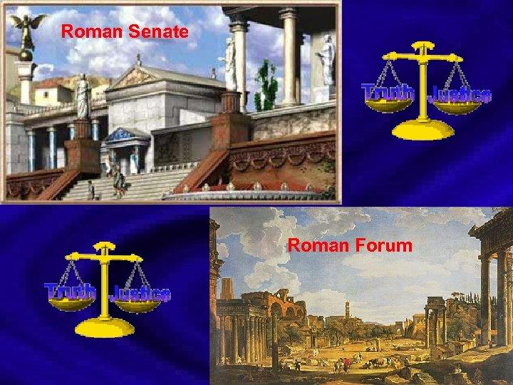 Roman Senate Roman Forum