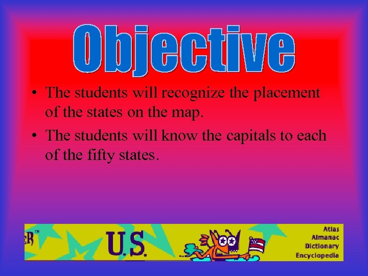 ED 417 Third Grade States Capitals Quia States And Capitals on