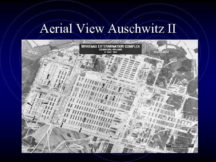 Aerial View Auschwitz II