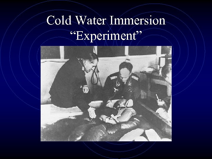 """Cold Water Immersion """"Experiment"""""""