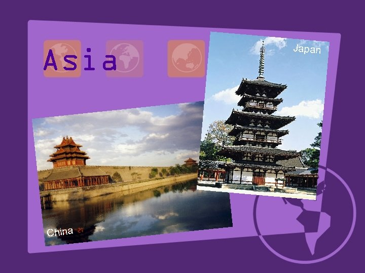 Asia China Japan