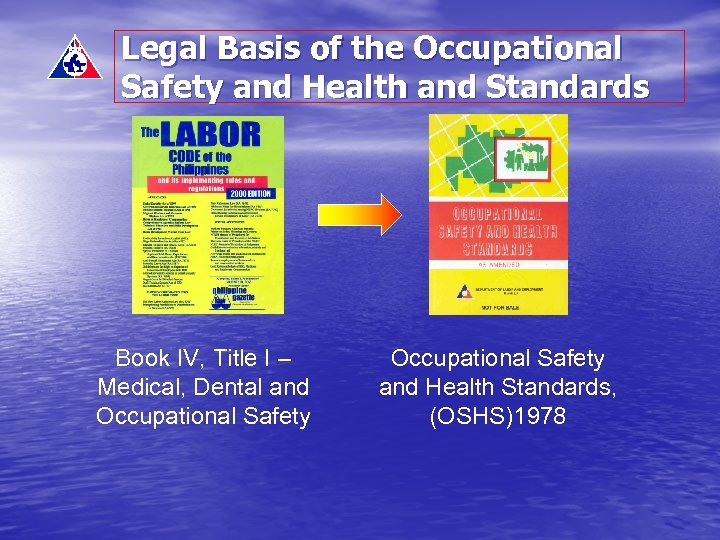 Legal Basis of the Occupational Safety and Health and Standards Book IV, Title I