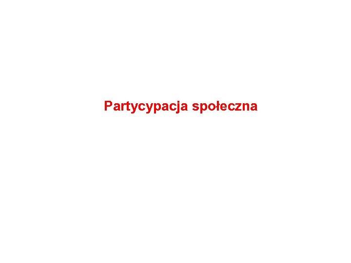 Partycypacja społeczna