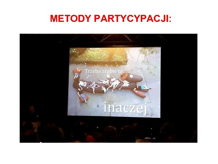 METODY PARTYCYPACJI: