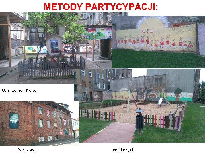 METODY PARTYCYPACJI: Warszawa, Praga Parnawa Wałbrzych