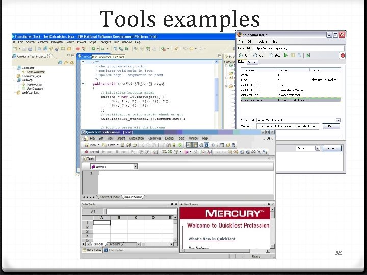 Tools examples 32