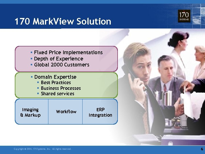 170 Mark. View Solution § Fixed Price Implementations § Depth of Experience § Global