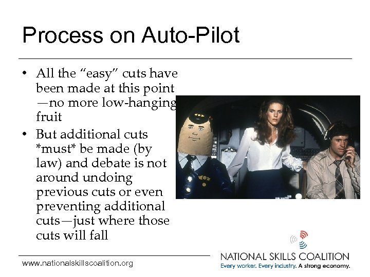 """Process on Auto-Pilot • All the """"easy"""" cuts have been made at this point"""