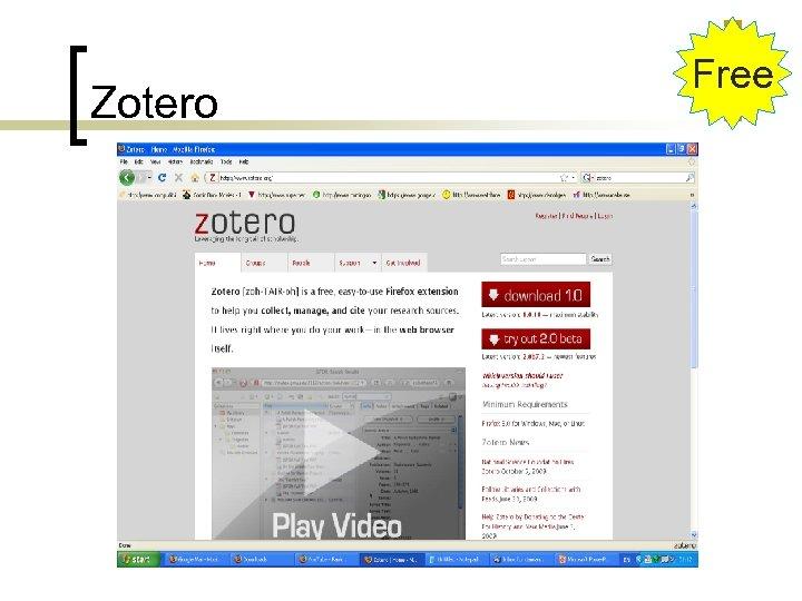 Zotero Free