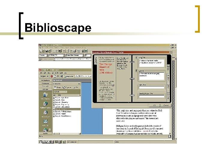 Biblioscape