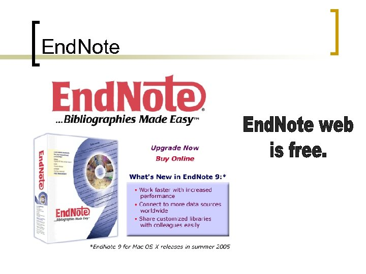 End. Note