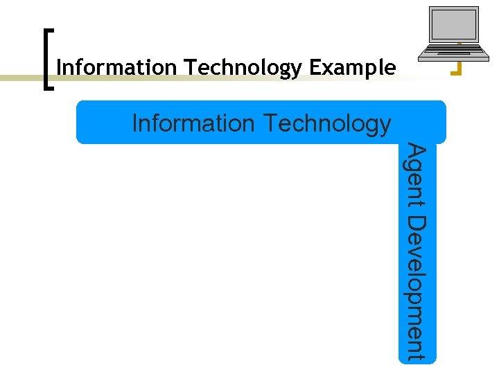 Information Technology Example Information Technology Agent Development