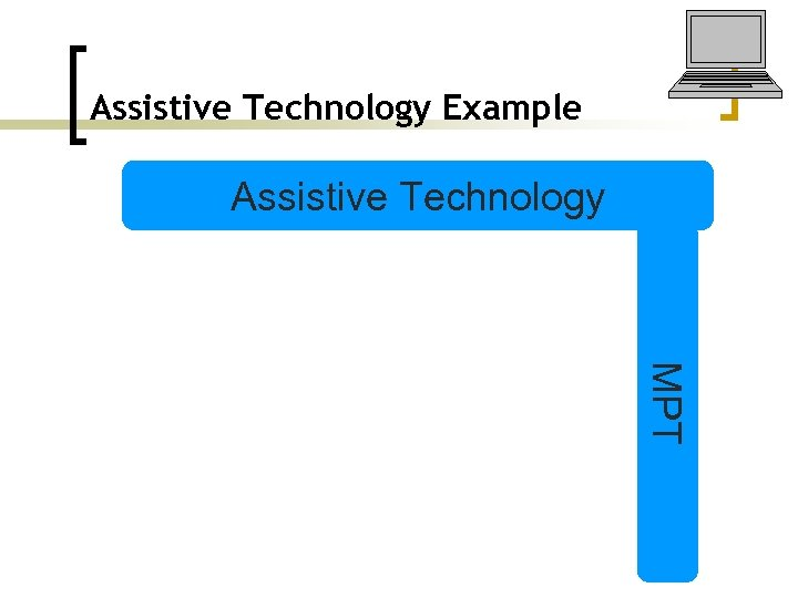 Assistive Technology Example Assistive Technology MPT