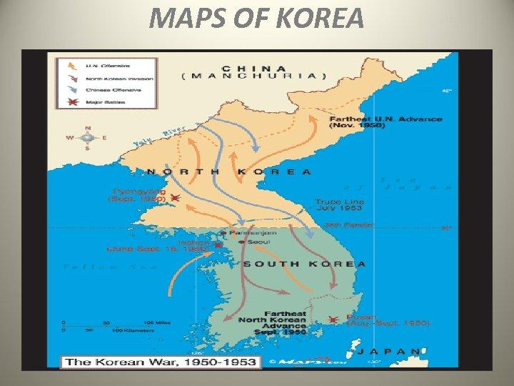 MAPS OF KOREA