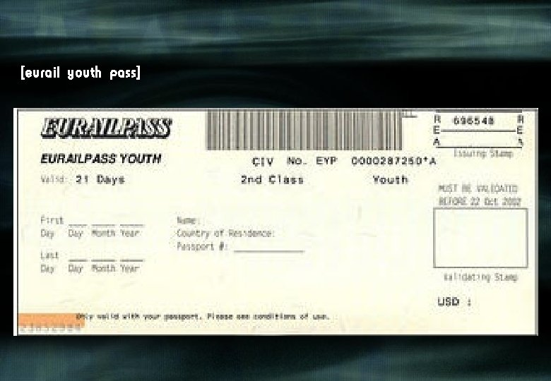 [eurail youth pass]
