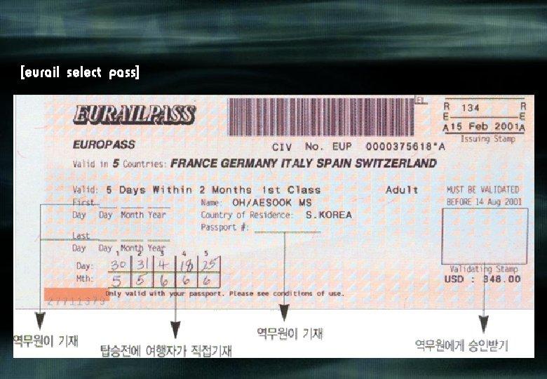 [eurail select pass]
