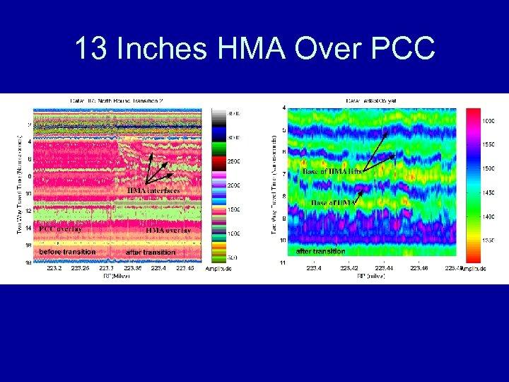 13 Inches HMA Over PCC