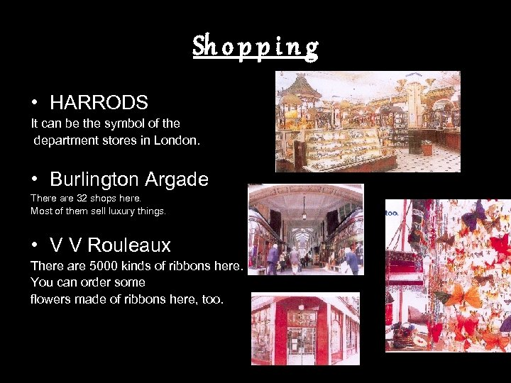 Sh o p p i n g • HARRODS It can be the symbol