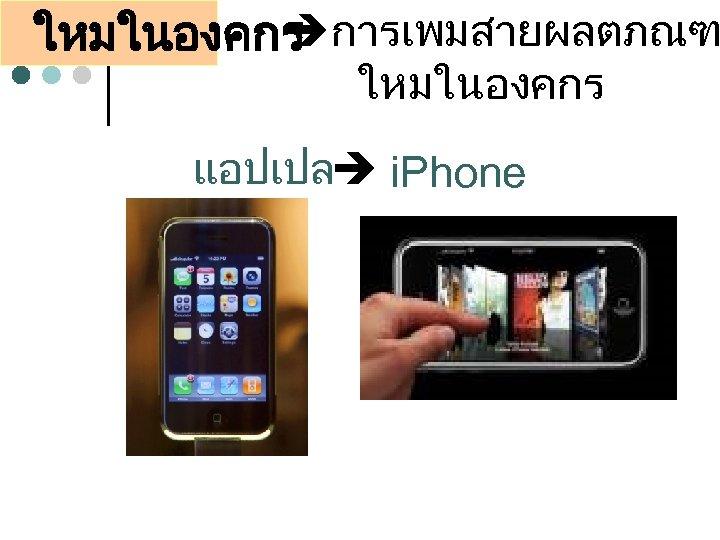 ใหมในองคกร การเพมสายผลตภณฑ ใหมในองคกร แอปเปล i. Phone