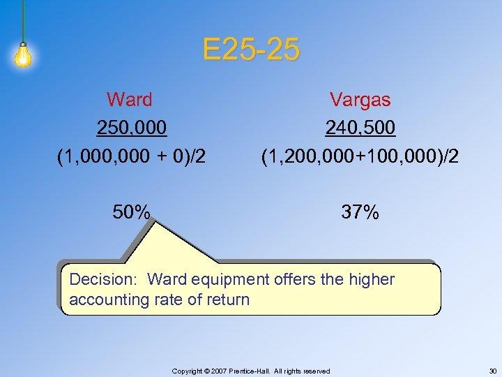 E 25 -25 Ward 250, 000 (1, 000 + 0)/2 Vargas 240, 500 (1,