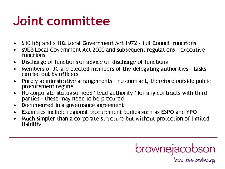 Joint committee • S 101(5) and s 102 Local Government Act 1972 - full