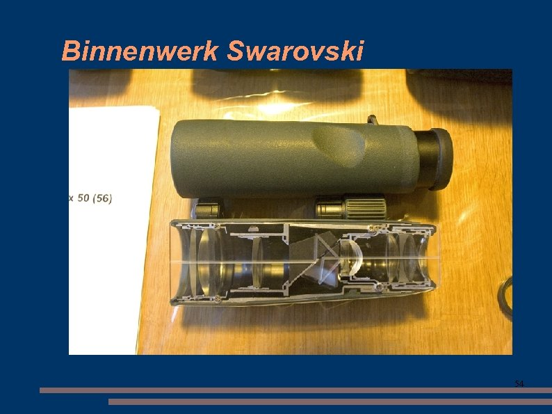 Binnenwerk Swarovski 54