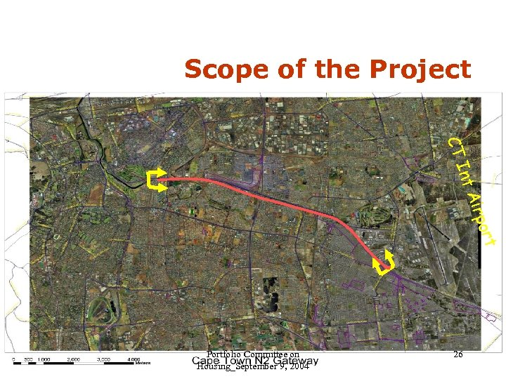 Scope of the Project CT Int Air t por Portfolio Committee on Housing_September 9,