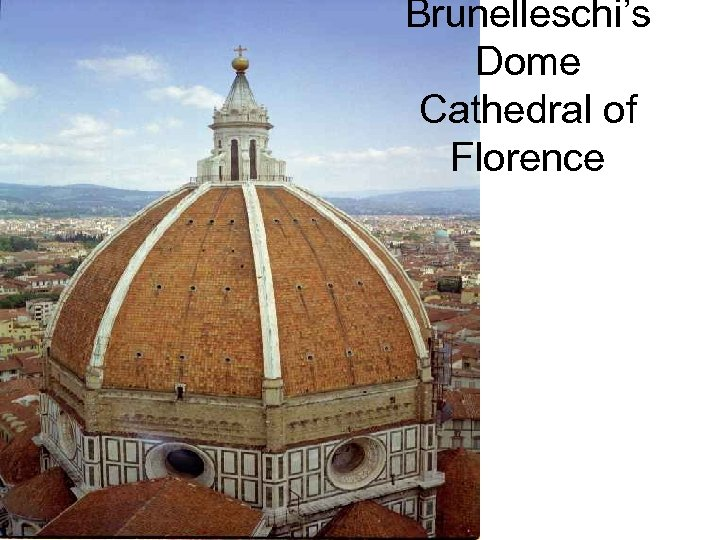 Brunelleschi's Dome Cathedral of Florence