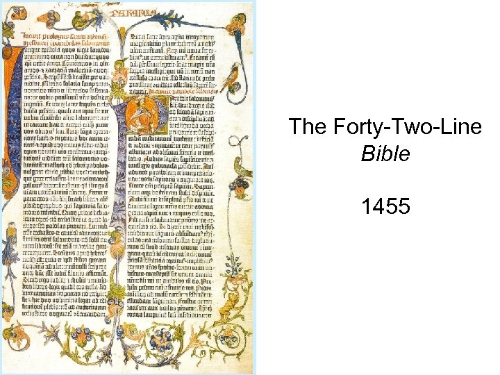 The Forty-Two-Line Bible 1455