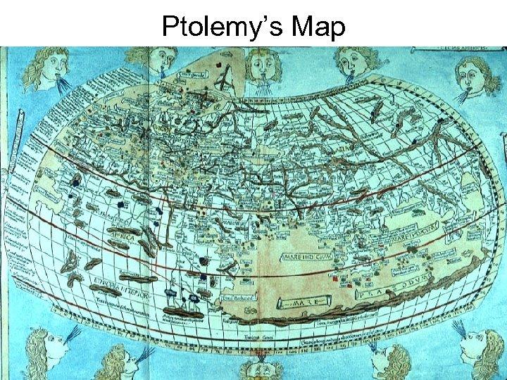 Ptolemy's Map