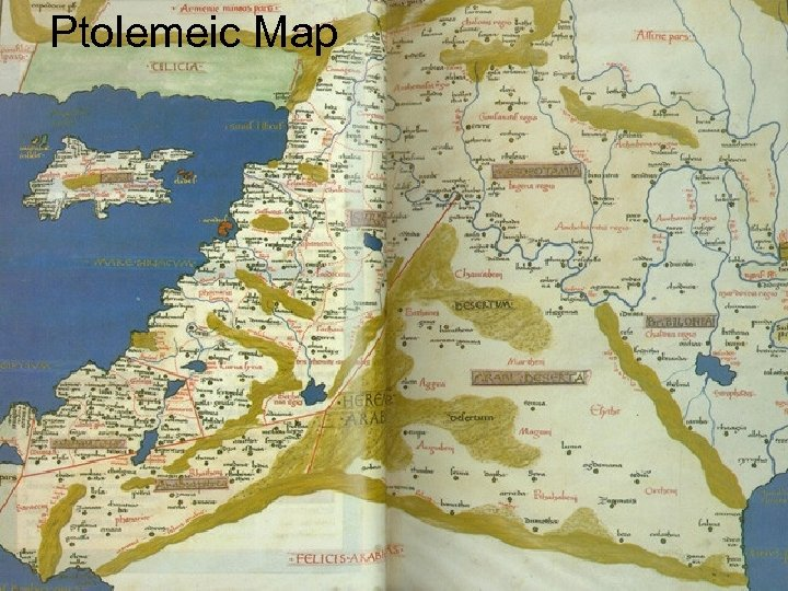 Ptolemeic Map