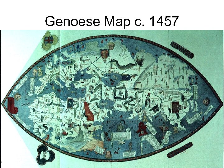 Genoese Map c. 1457