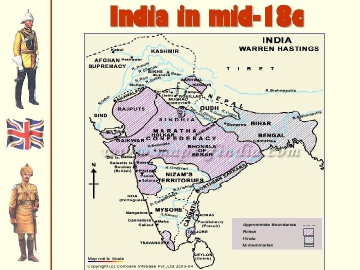 India in mid-18 c