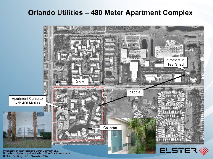 Orlando Utilities – 480 Meter Apartment Complex 5 meters in Test Shed 0. 5