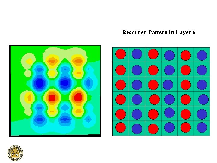 Recorded Pattern in Layer 6