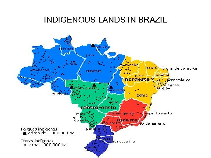 INDIGENOUS LANDS IN BRAZIL