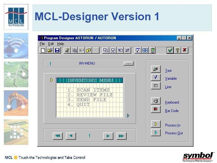 MCL-Designer Version 1