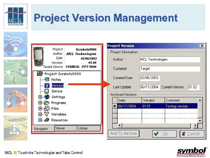 Project Version Management