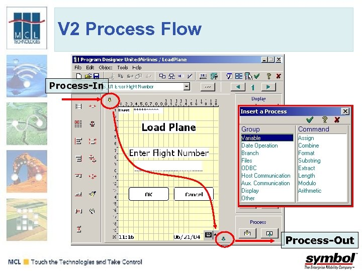 V 2 Process Flow Process-In Process-Out
