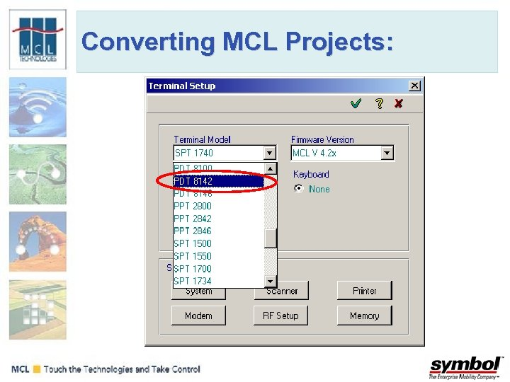 Converting MCL Projects: