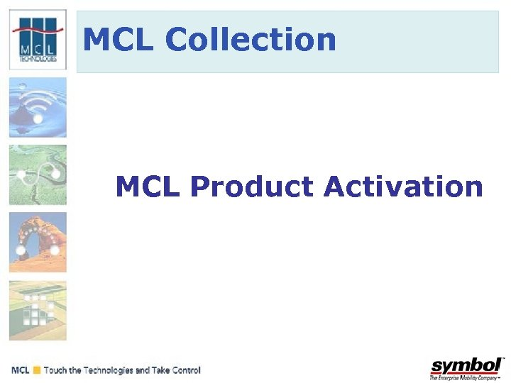 MCL Collection MCL Product Activation