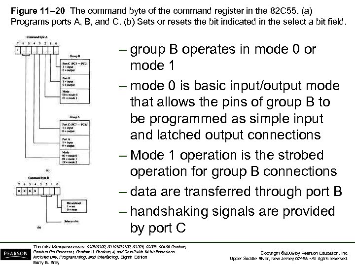 Figure 11– 20 The command byte of the command register in the 82 C