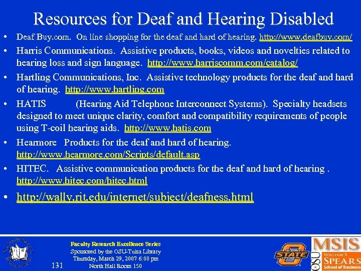 Resources for Deaf and Hearing Disabled • Deaf Buy. com. On line shopping for