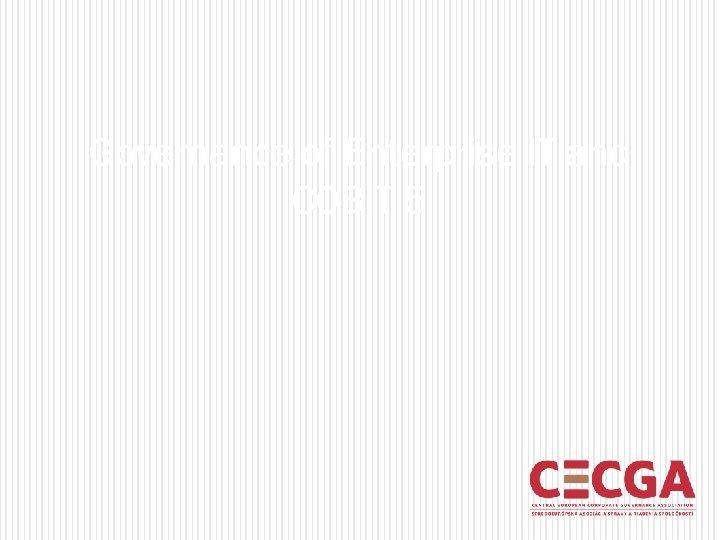 Governance of Enterprise IT and COBIT 5