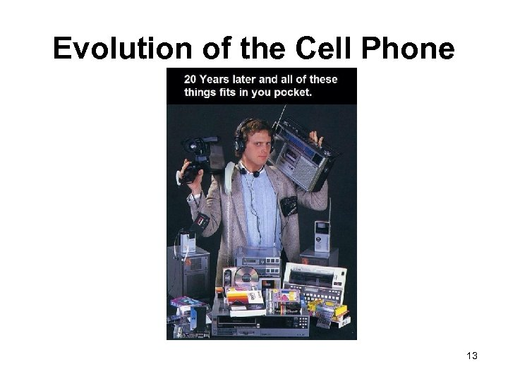 Evolution of the Cell Phone 13