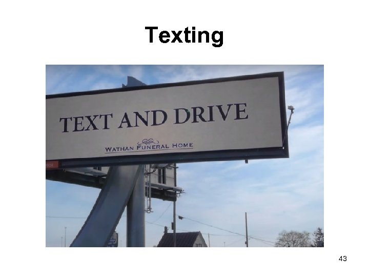 Texting 43