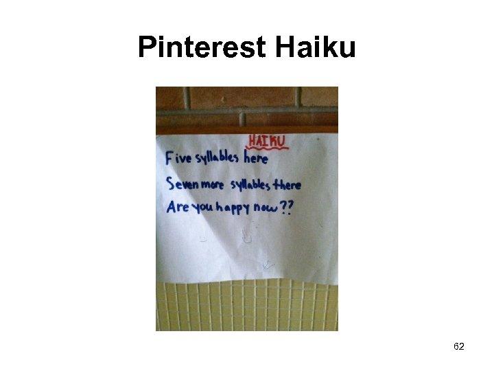 Pinterest Haiku 62
