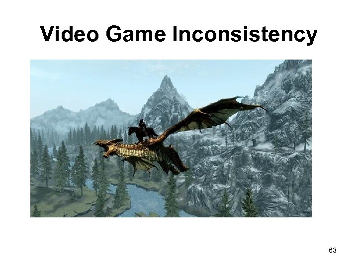 Video Game Inconsistency 63