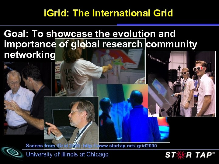 i. Grid: The International Grid Goal: To showcase the evolution and importance of global